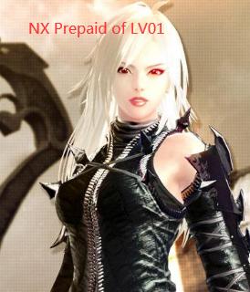 Vindictus::Items : NXPrepaidwithLV01Account NX 100.000