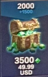 Smite::Items :  Smite Gems 3.5K